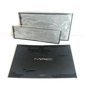 MAC Cosmetic Multi-Purpose Clear Zip Closure Bags